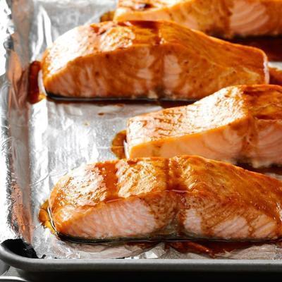 salmón a la parrilla