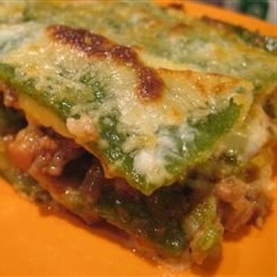 lasaña verdi al forno