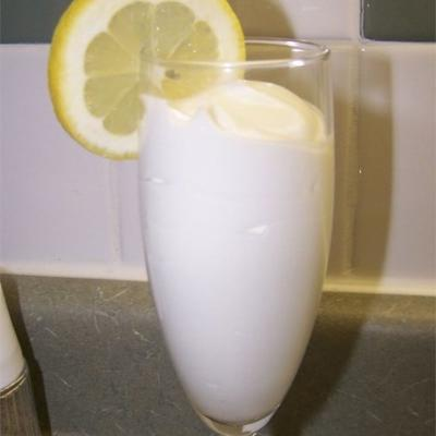 syllabub de limón