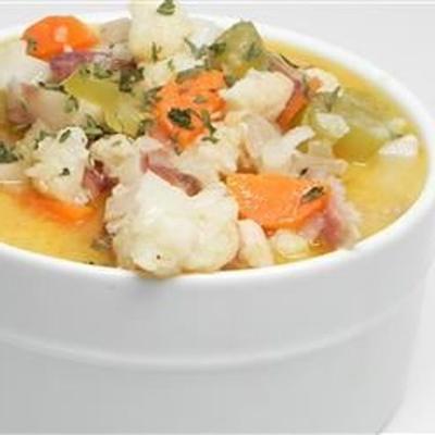 Sopa De Coliflor De Pollo De Nichole