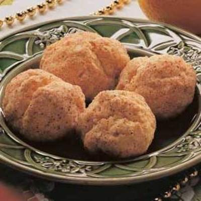 rollos de pan de naranja