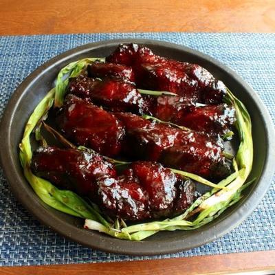 cerdo chino a la parrilla (char siu)