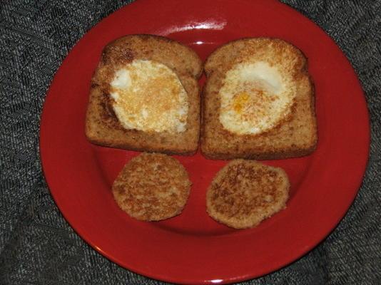 desayuno de ojo de buey