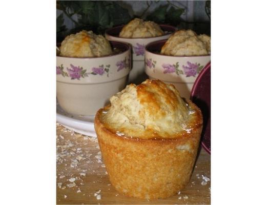 muffins de avena estilo tim horton