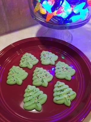 galletas de spritz de navidad