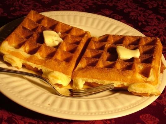waffles esponjosos