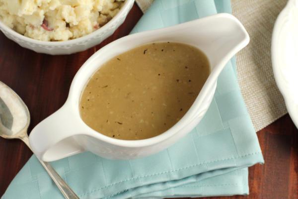 La salsa del hombre perezoso (sin gluten)