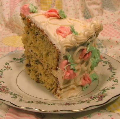 pastel de nuez de coco de Amy