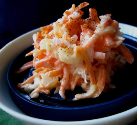 Ensalada de zanahoria hawaiana