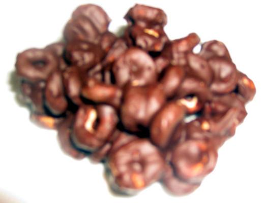 Galletas crujientes de chocolate fáciles.