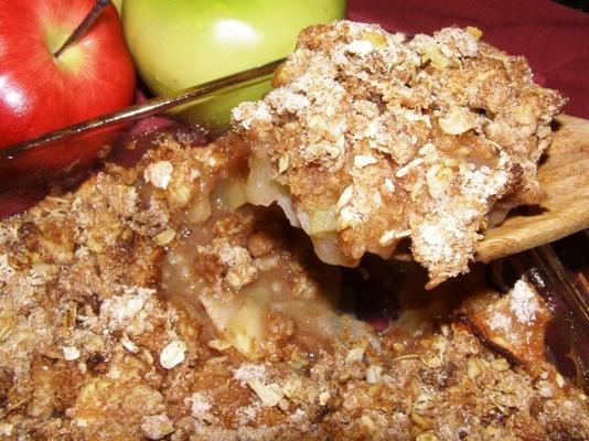 pera de manzana crujiente (3 puntos ww)