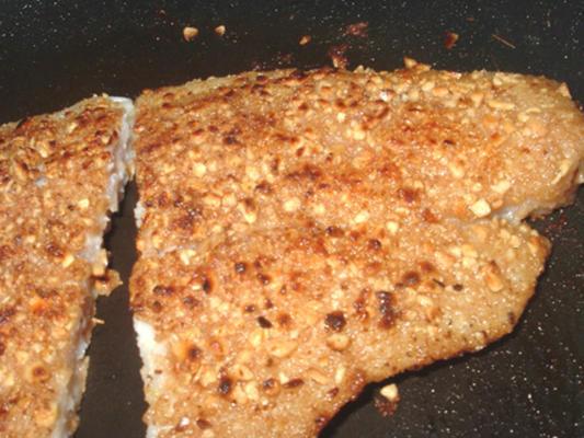 Filetes de pescado frito al horno loco (¡eso es chiflado!)