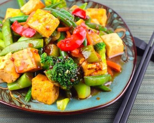 el tofu salteado de Acadia