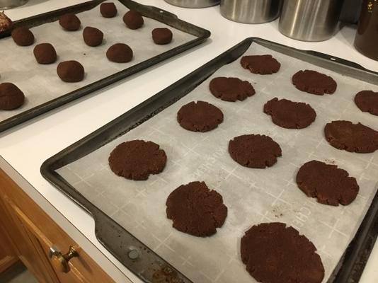 galleta de brownie de chocolate baja en carbohidratos