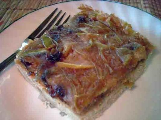 barras de manzana con canela y corteza de mijo