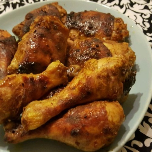 Pollo al horno curry sabor-fest