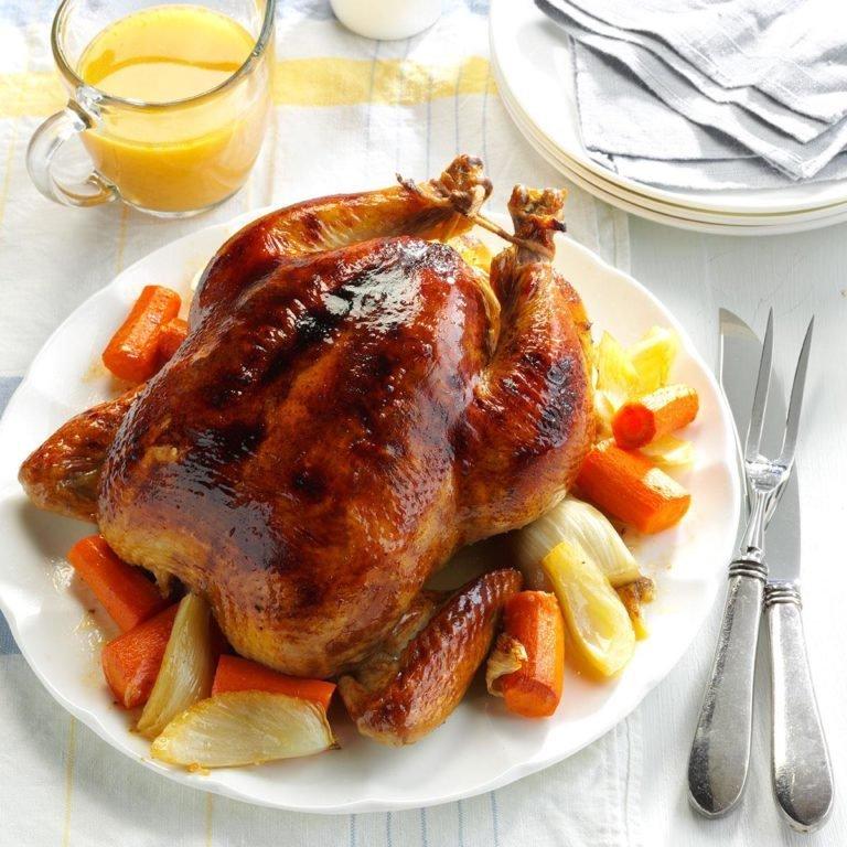 Pollo asado saludable del domingo