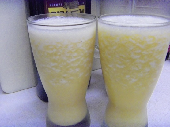 Mango daiquiris de banana