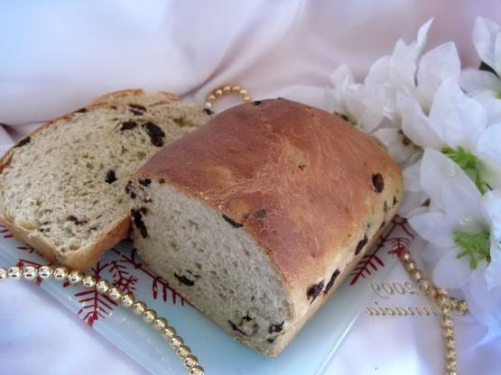 Pan de pasas de desayuno (cramique)