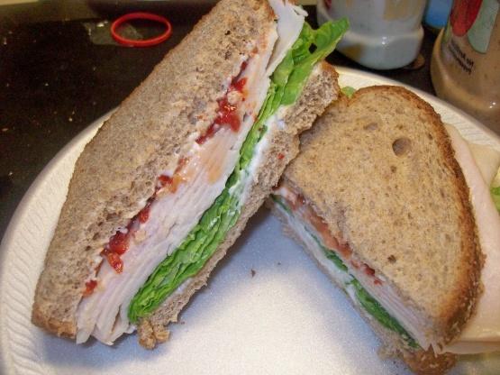 El mejor sándwich de cebolla de pavo