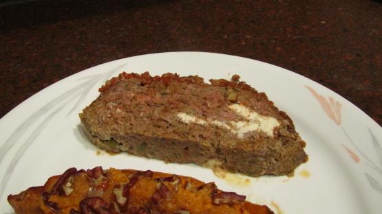Pastel de carne con queso chili