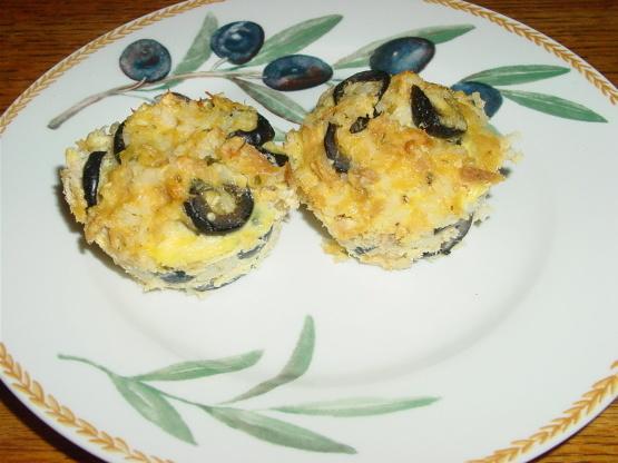 Muffinettes De Atún Y Arroz